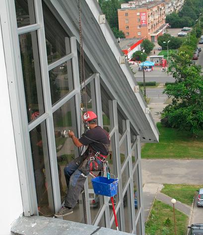 Помыв фасадов