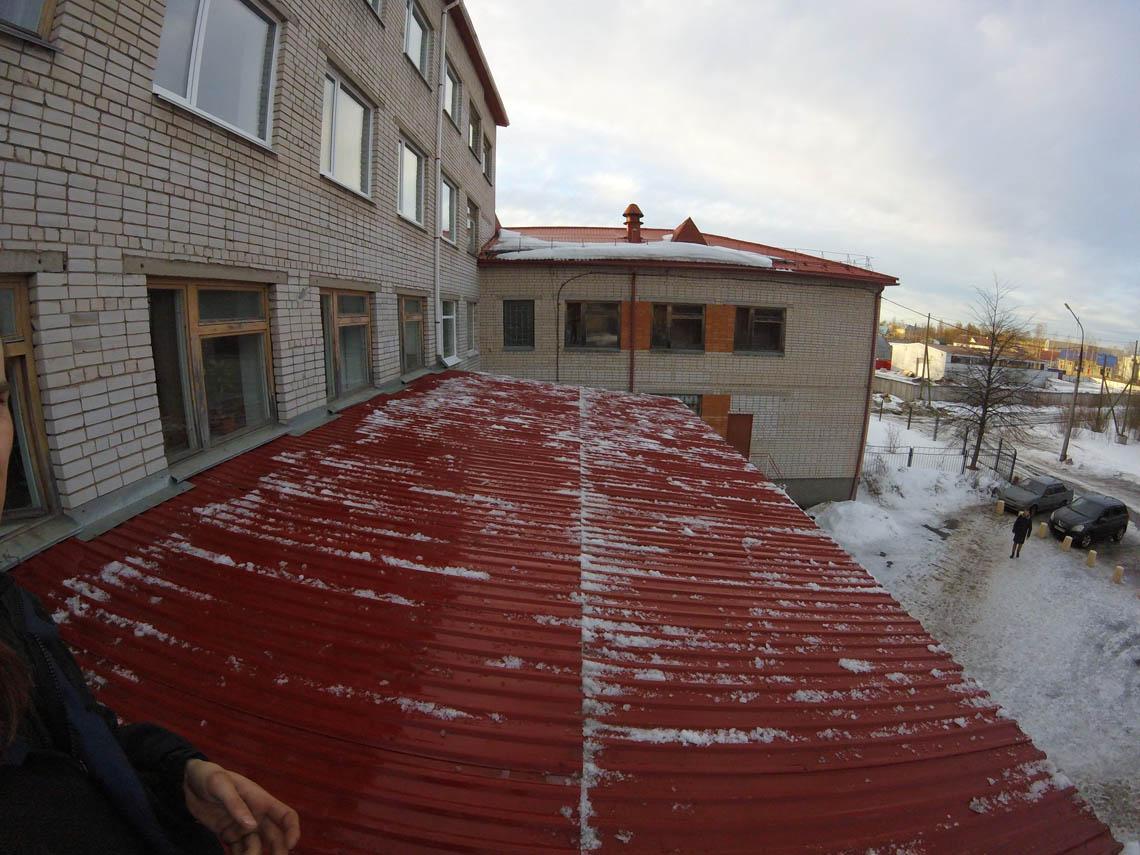 чистка крыш