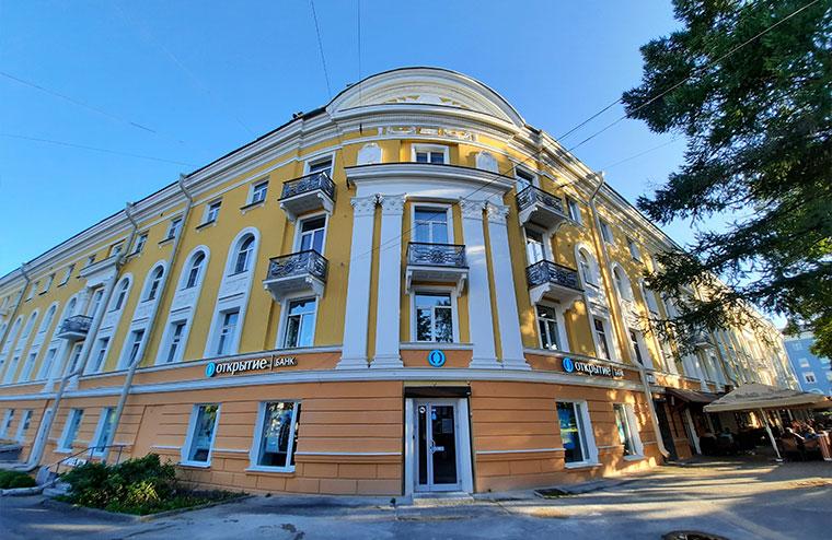 Капитальный ремонт фасада здания МКД